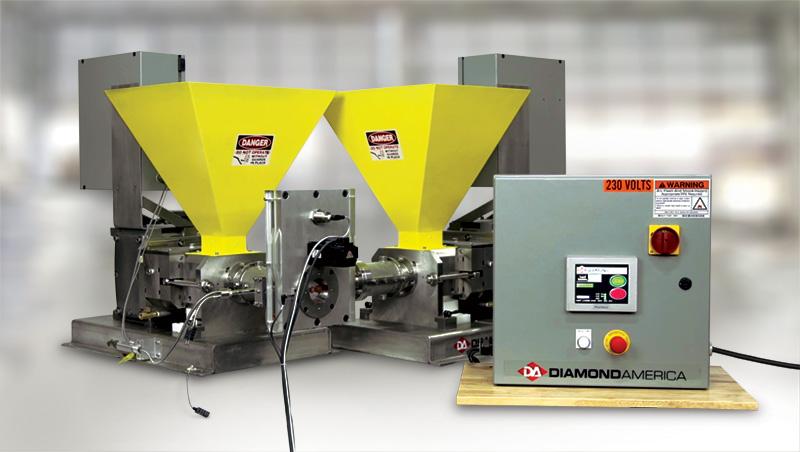 extruder system controls Manufacturer Diamond America