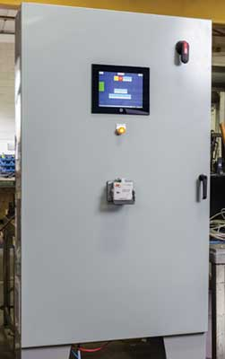 system controls for extrusion process