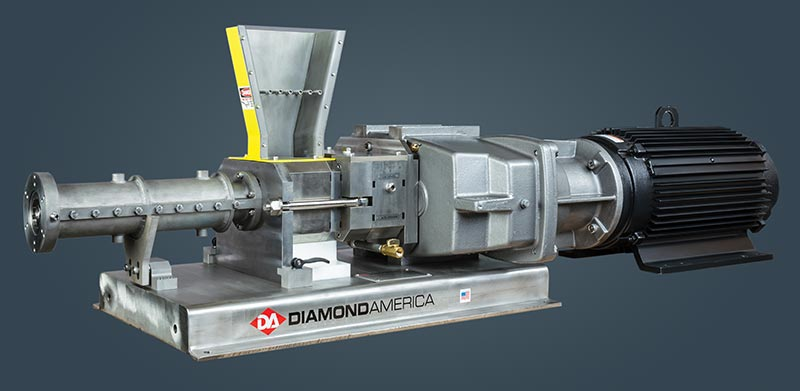 Twin Feed Extruder