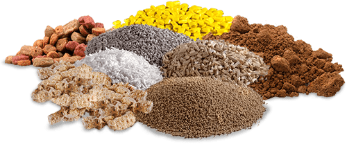 Raw materials for extrusion